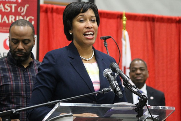 Mayor Bowser gave thanks for the annual event