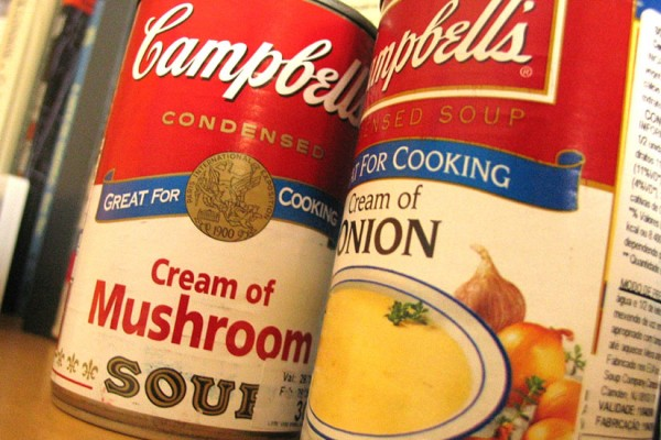 Soup cans (Photo via Flickr/Fernando Mafra)