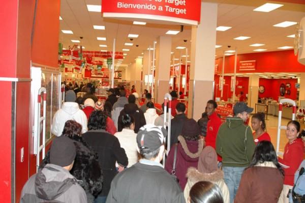 Columbia Heights Target on Black Friday (Photo via Wikimedia/Magnus Manske)