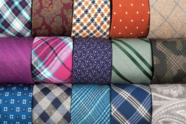 Some of The Tie Bar's neckties (Photo via Facebook/The Tie Bar)