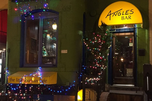 Angles and The Little Fountain Cafe at 2339 18th St. NW (Lights of Adams Morgan winner)