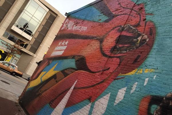 Blagden Alley street art