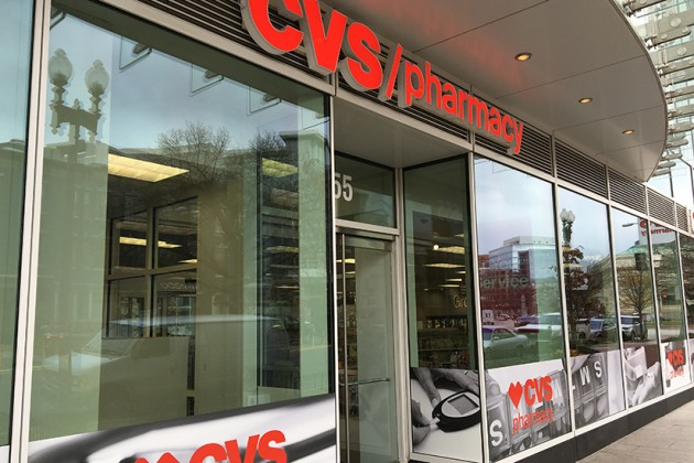 The forthcoming CVS is located at 655 K Street NW