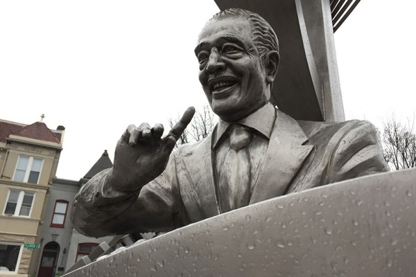 Duke Ellington statue in Shaw