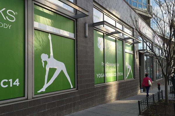 Future home of YogaWorks on 14th Street