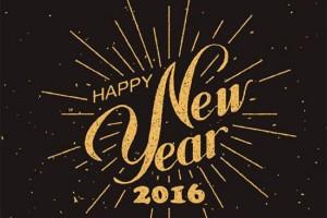 Happy New Year 2016 (Photo via Facebook/Jack Rose Dining Saloon)