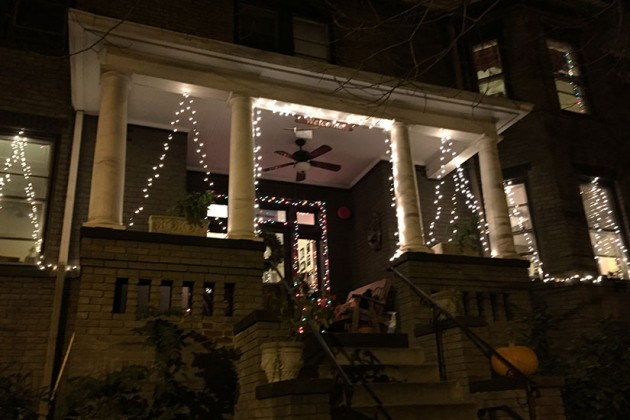Joseph's House at 1730 Lanier Place NW (Lights of Adams Morgan winner)