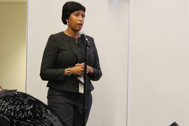 Mayor Bowser attended last night's ANC 2B meeting