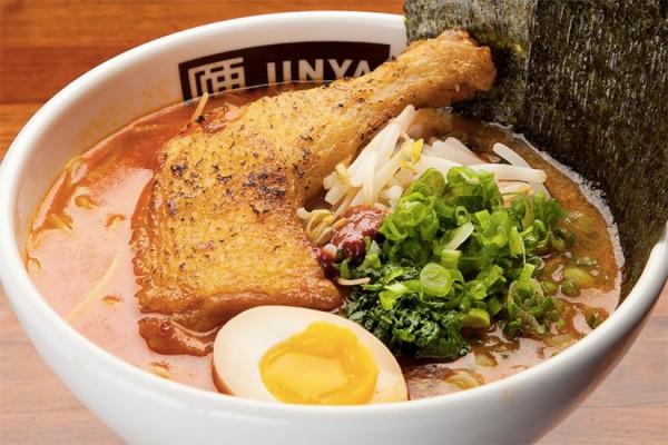 Spicy Crispy Chicken Ramen from JINYA Ramen Bar (Photo via JINYA Ramen Bar)