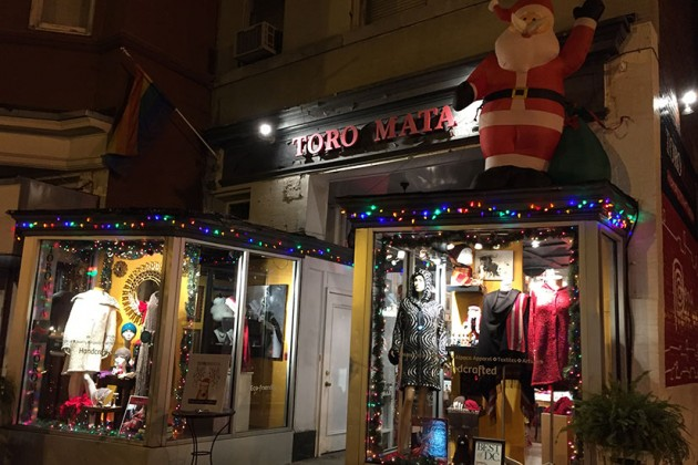 Toro Mata at 2410 18th St. NW (Lights of Adams Morgan winner)