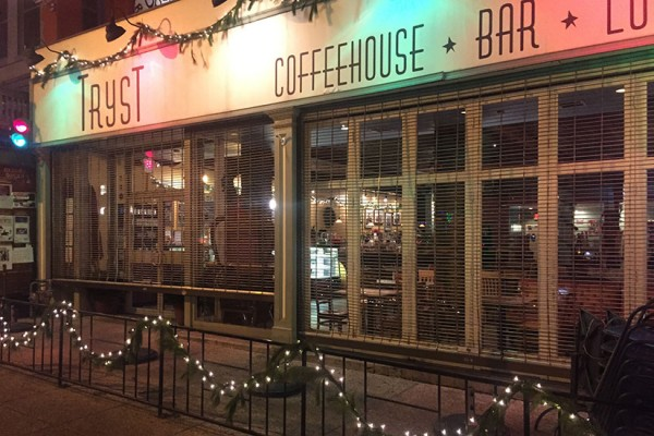 Tryst decorated for the holidays (Photo courtesy of Robert Turner II)