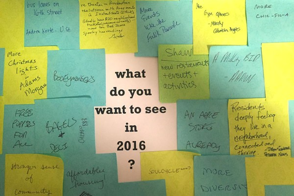 What do you want to see in 2016?