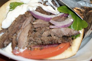Yamas gyro (Photo via Yamas Mediterranean Grill)