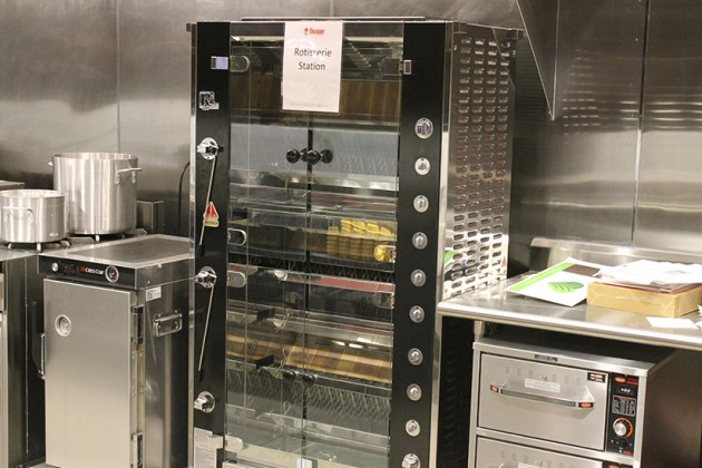 "Chickens will soon spin in this ""state-of-the-art"" rotisserie chicken oven"
