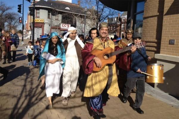 GALA Hispanic Theatre's Three Kings Celebration in Columbia Heights (Photo via Twitter/TeatroGALA)
