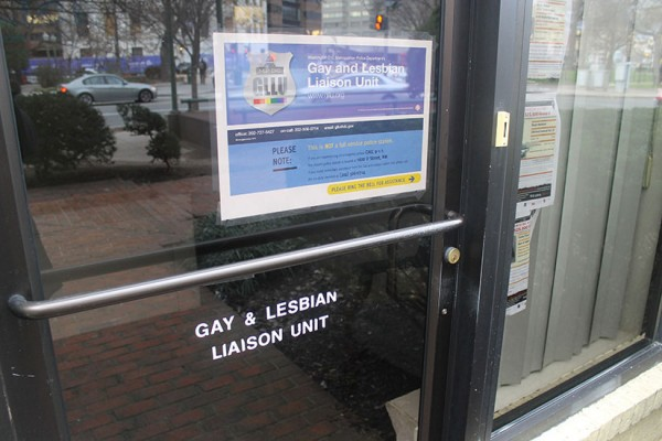 Metropolitan Police Department Lesbian, Gay, Bisexual and Transgender Liaison Unit office in Dupont