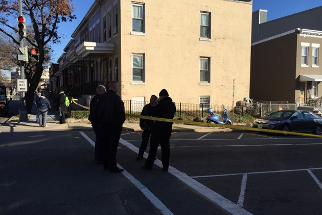 The shooting occurred at the intersection of Irving and Warder streets NW