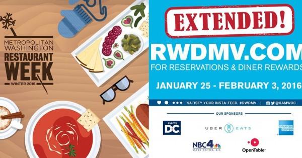Winter Restaurant week extended logo