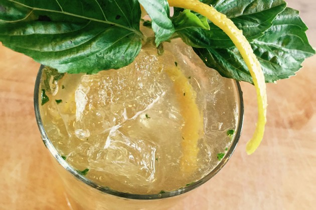 Vodka basil mule (Photo courtesy of Mulebone)