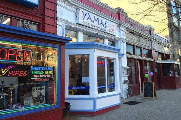 Yamas Mediterranean Grill in Adams Morgan