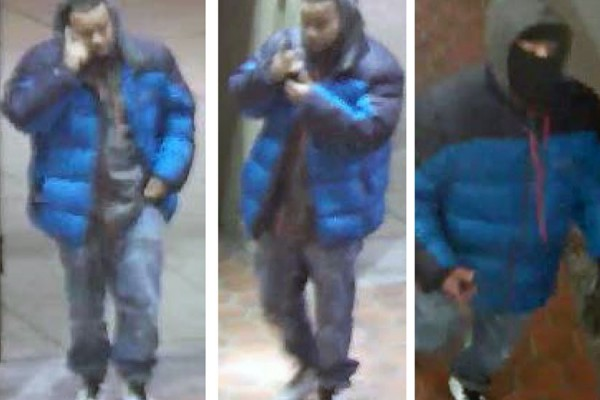 Man wanted by police in connection with attempted robbery (Photos via Metro Transit Police Department)