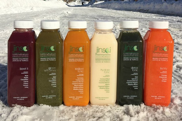 The company's line of juices and tonics