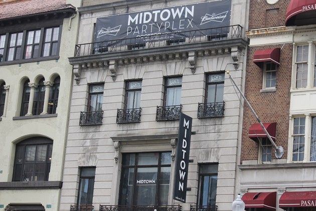 Midtown Partyplex is located at 1219 Connecticut Ave. NW