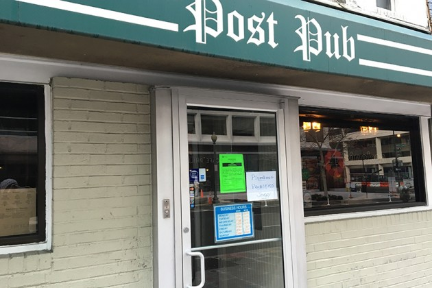 Post Pub was closed by the D.C. Department of Health yesterday