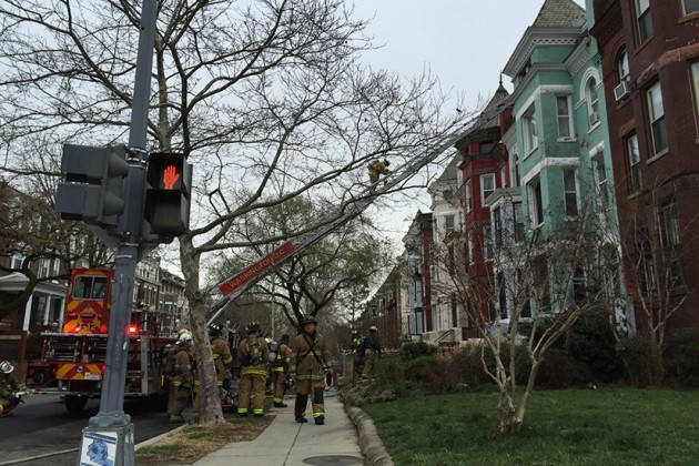 There were no injuries related to the blaze, rescuers said