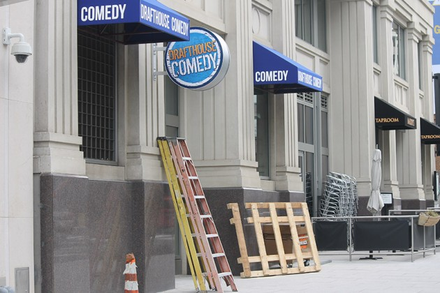 Drafthouse Comedy aims to open at 1100 13th Street NW on April 1
