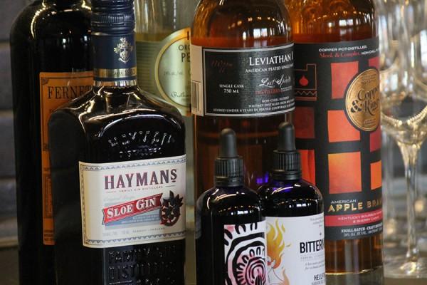 Espita Mezcaleria bottles 4