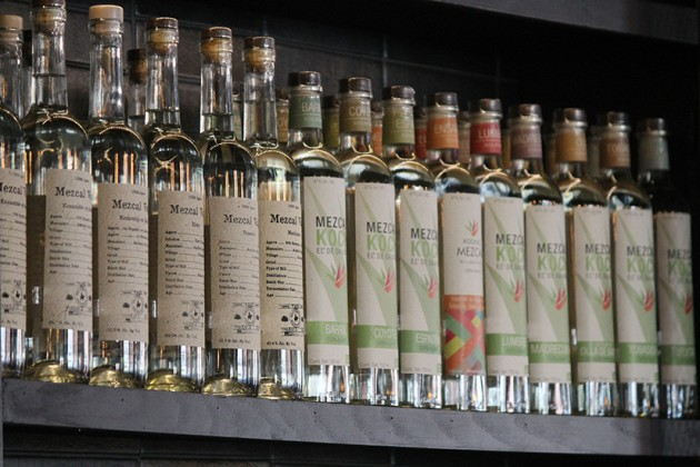 The bar will serve 85 types of mezcal when it opens