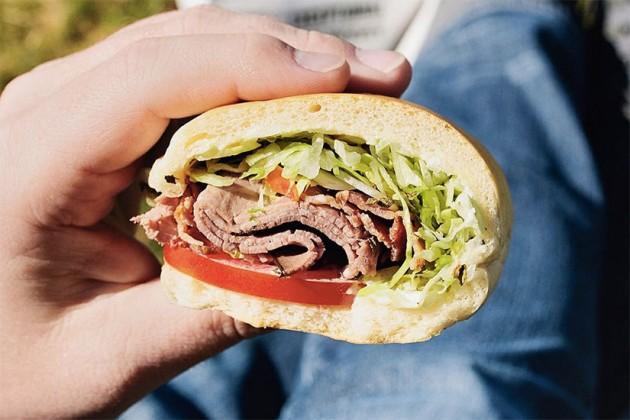 Jimmy John's sandwich (Photo via Instagram/Jimmy John's)