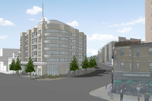 PN Hoffman rendering for 1800 Columbia Road NW (Image via ANC 1C/PN Hoffman)