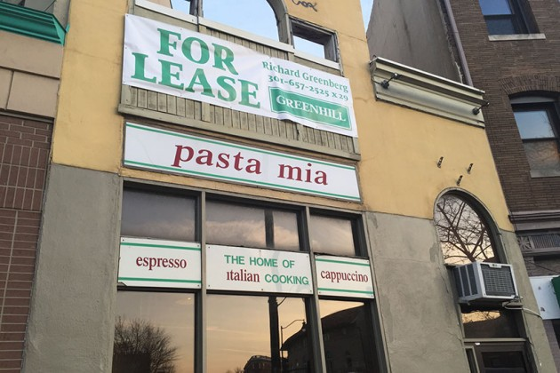 Pasta Mia in Adams Morgan