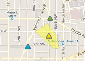 Pepco Outage map 3:16