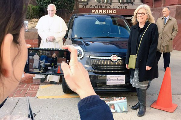Pope Fiat photo via DC Archdiocese