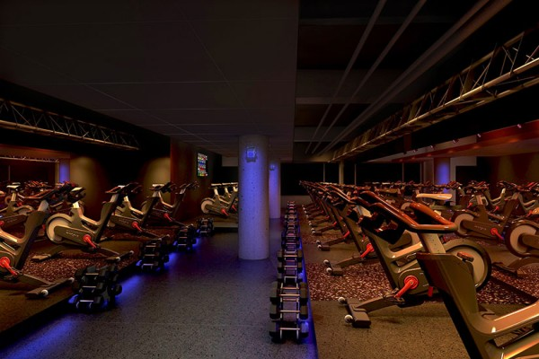 SweatBox studio rendering (Photo courtesy of VIDA Fitness)