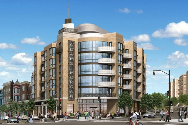 1800 Columbia Road NW revised rendering (Image via ANC 1C/PN Hoffman)
