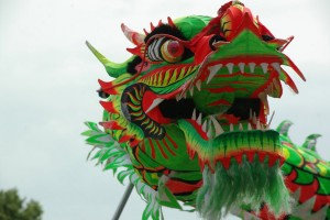 Chinese Dragon, photo via Wikimedia Commons