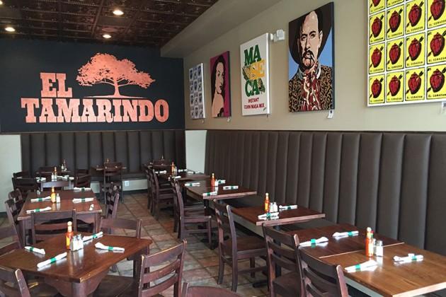 El Tamarindo's main dining area