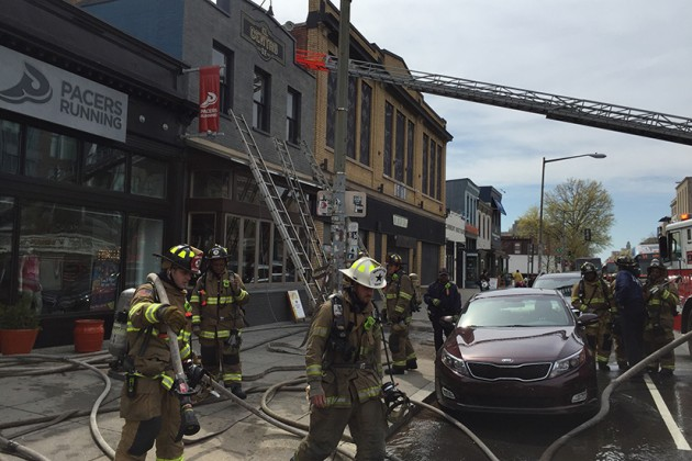 The fire broke out around 11 a.m. today,  said El Centro manager Steven Tavel