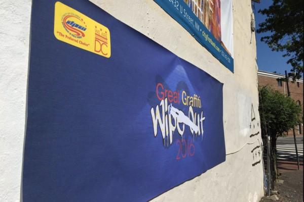 Great Graffiti Wipe Out (Photo via Twitter/Brianne Nadeau)