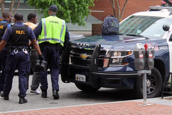 Man arrested at Dupont Circle Metro station on May 18, 2016