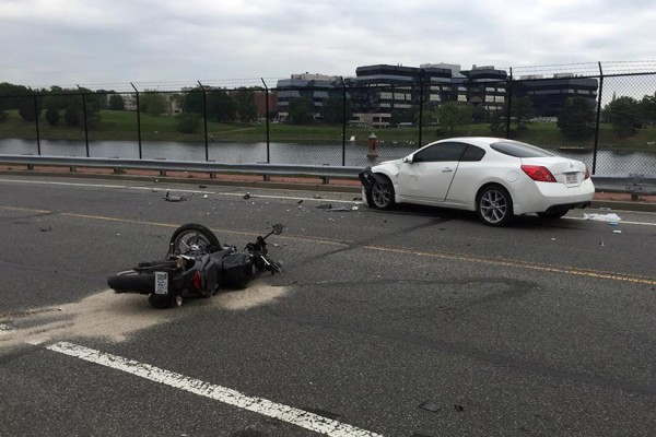 Motorcyclist critically injured near Howard May 18