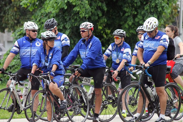 Police Week Cyclists BRIEF
