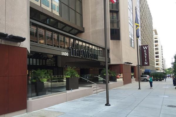 The Westin Washington, D.C. City Center at 1400 M St. NW