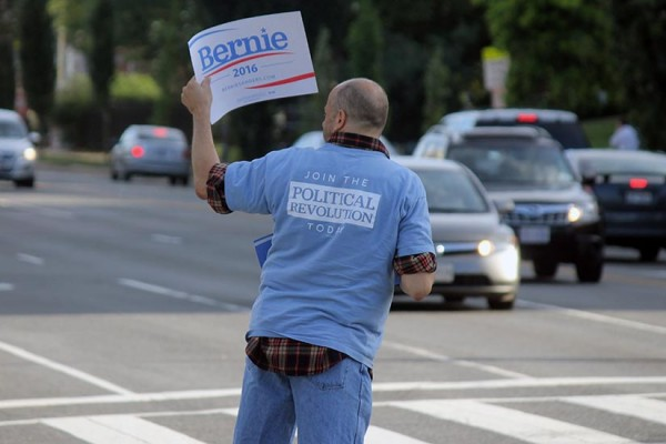 Bernie Sanders supporter BRIEF
