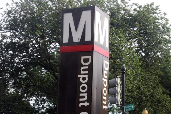 Dupont Circle Metro sign BRIEF
