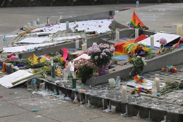 Dupont Circle memorial for Orlando victims